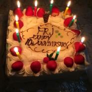 FRJ10周年記念パーティー